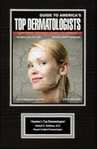 America's Top Dermatologists Eidelman 2013