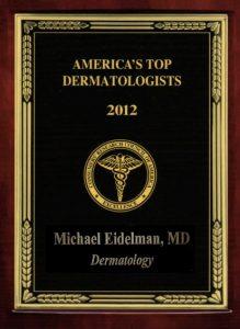 Michael Eidelman Americas Best Dermatologist 2012