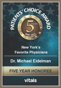 Patients' Choice Award 5 years