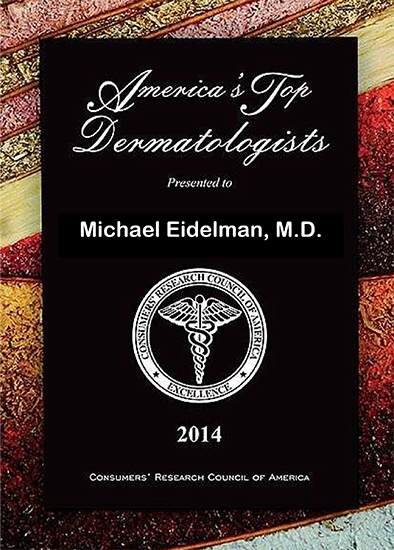 Top Dematologist 2014 Eidelman